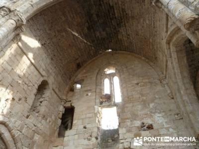 Monasterio de Bonaval - Cañón del Jarama - Senderismo Guadalajara; senderismo en burgos